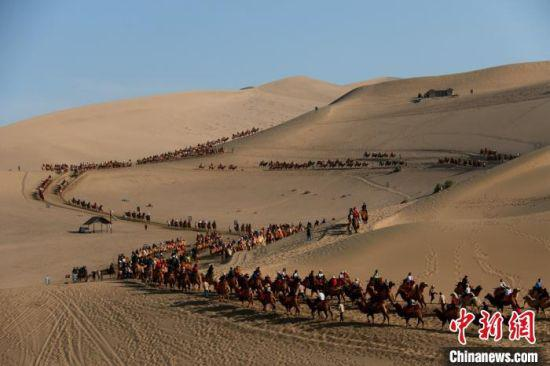 10月1日至8日,敦煌市接待游客40.83万人次,比上年同期增长11.84%。