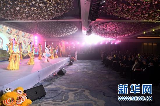 这是11月5日拍摄的推介活动现场。新华社记者 范培珅 摄
