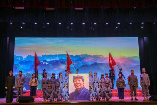 """兰州工业学院举办""""奋斗百年路·启航新征程""""纪念五四运动10"""
