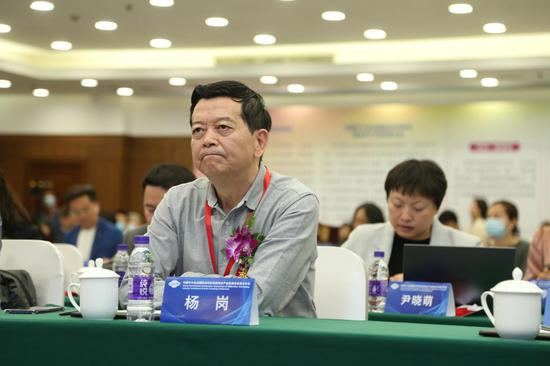 国家审计署原局长、中国扶贫志愿促进会杨岗