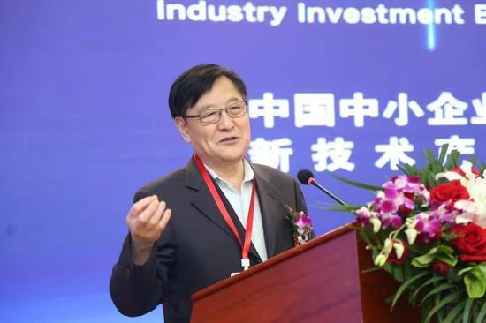新技术产业投资分会会长张景安讲话