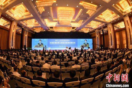 7月8日,第27届中国兰州投资贸易洽谈会在兰州开幕。 杨艳敏 摄