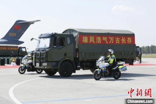 自2014年以来,中韩双方已连续8年实施在韩中国人民志愿军烈士遗骸交接,将825为烈士遗骸接回祖国。 甘肃省退役军人事务厅供图