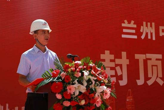 甘肃省城乡规划设计研究院有限公司监理分院副院长张青峰张院长致辞
