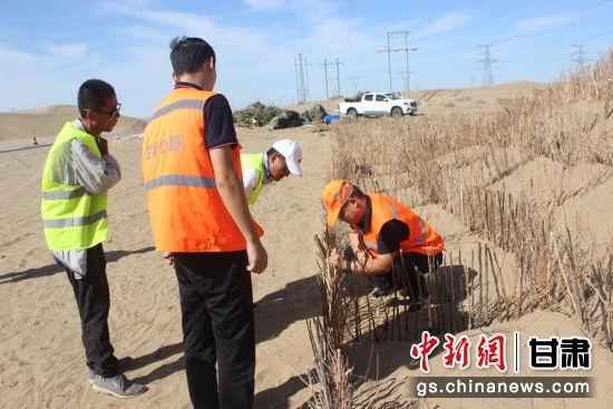 图为柴草深度检查。