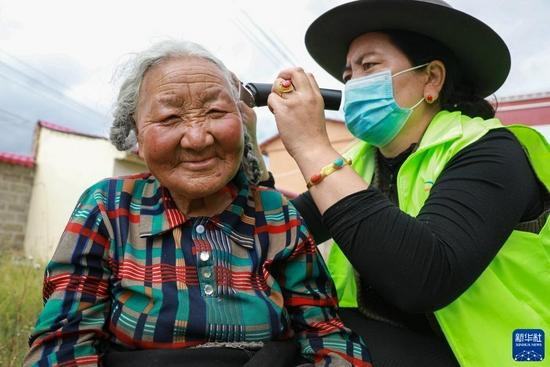 新华全媒+丨甘肃甘南:集中供养 安享晚年