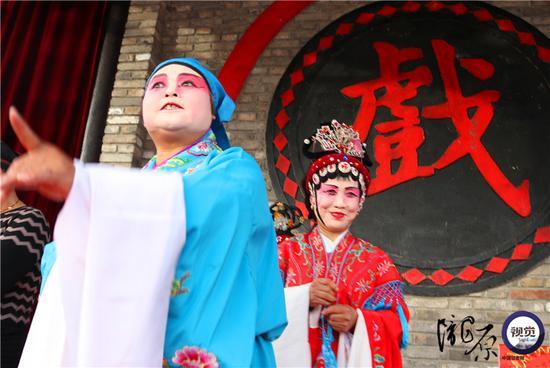 王金凤表演婆婆的眼神