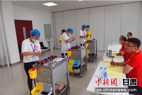 甘肃省针灸推拿技能大赛在省中医院举行