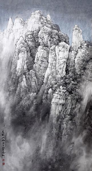 月笼山幽89x180 2020年