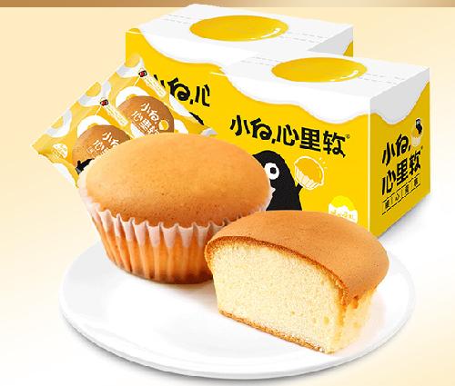 图:小白心里软暖心蛋糕