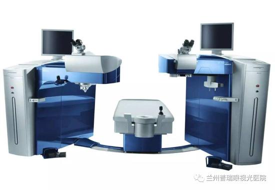 个性化微飞秒全套FS200Green+EX500Green激光近视治疗设备