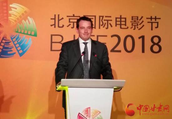 西班牙驻中国大使馆文化参赞爱德华·艾斯科里瓦诺