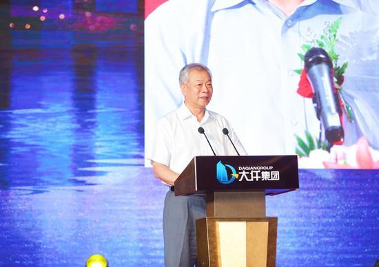 原国家广电总局副局长张丕民先生致辞