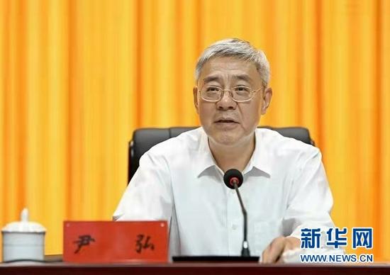 甘肃省委书记、省人大常委会主任尹弘出席活动并讲话。