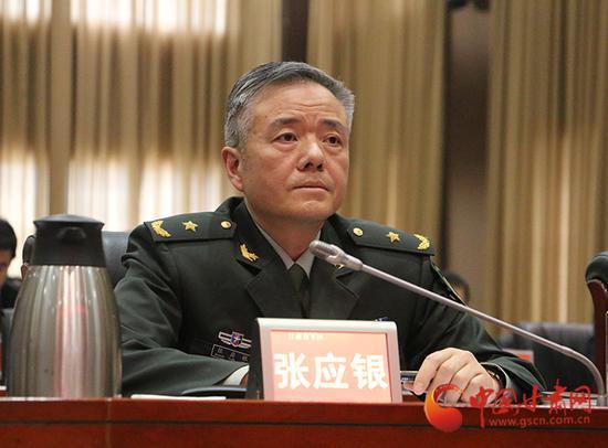 省军区副政委、省征兵工作领导小组副组长张应银讲话