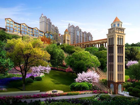 陇城壹号花园云景观光电梯