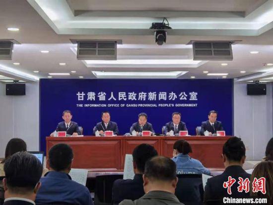 5月14日,甘肃省政府新闻办召开第三十一次全国助残日系列活动发布会。 崔琳 摄