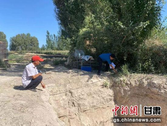 图为村贮坑民挖青。