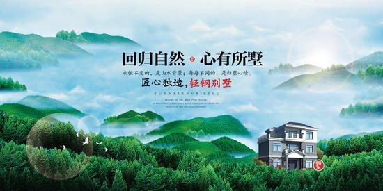 轻钢别墅厂家-博仕龙50亩产业园