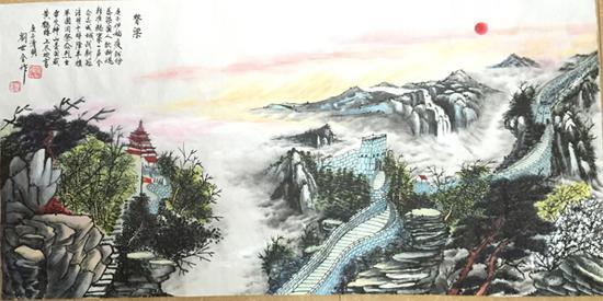 刘世全作品《脊梁》