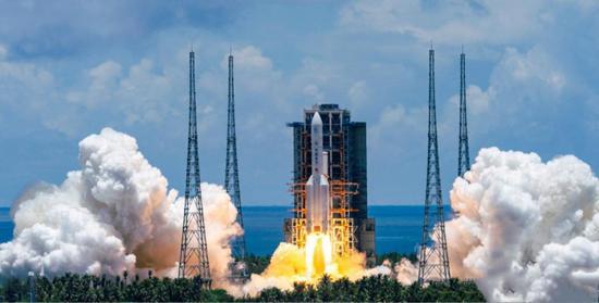 """中国首次火星探测器""""天问一号""""发射成功"""