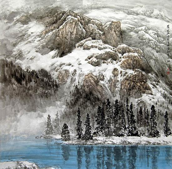 落基山冬韵 200x200 2012年(APEC国际会议中心)