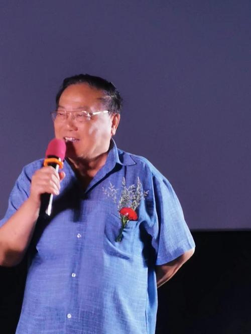 图:现任中央重大革命和历史题材影视创作领导小组成员、国家电影审查委员会委员张思涛先生致辞