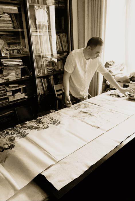 当代著名山水画家杨瑞华作品欣赏