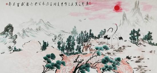 肖宗林作品 《原野之美》