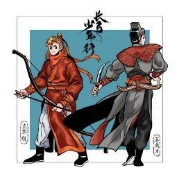 主角:袁不彀(左),莫鼎力(右)