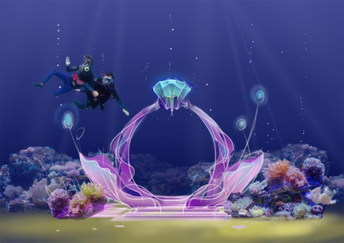 《海洋之心》手绘效果图