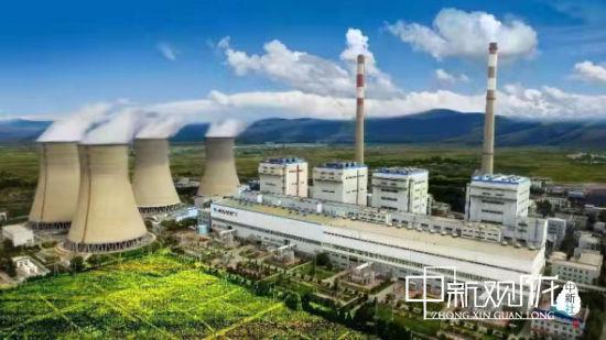 图为靖远第二发电有限公司。