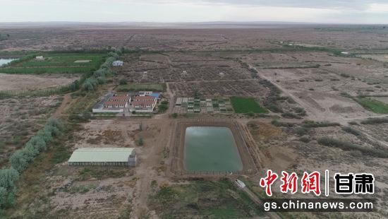 图为中国科学院西北生态环境资源研究院干旱区盐渍化研究站外景。