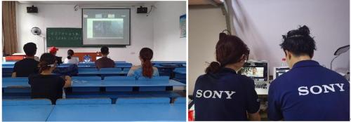 今年梦想教室活动正式启动前,大学生接受线上培训