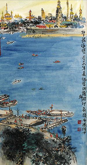 梁桂才作品《圣彼得堡》