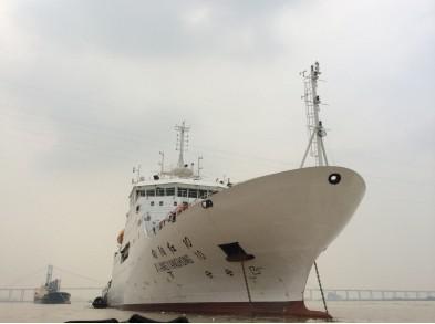 图5-卫星导航高空气象探测系统多次参加海洋调查