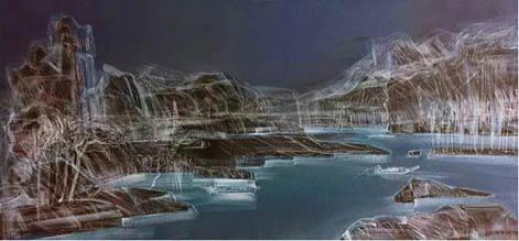 River in dream 60x120cm 2016