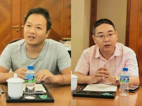(刘洪昌律师(左)江永乔律师(右))