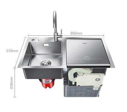 关于洗碗这件事,美的水槽洗碗机f4有话说!图片