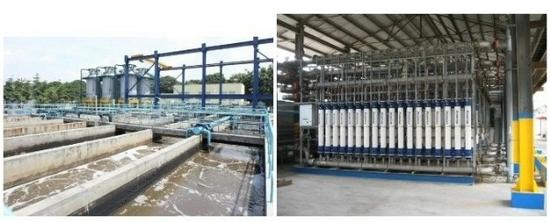 图为中石化广州分公司污水净化回用项目
