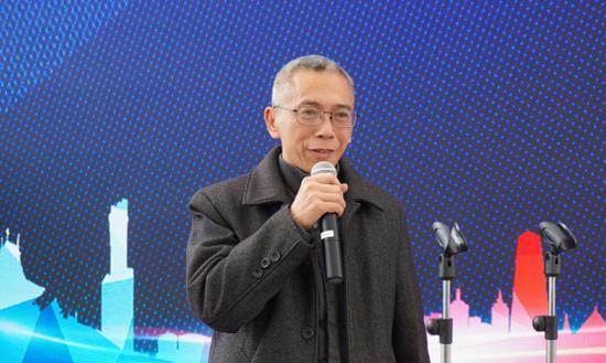 贵州龙洞堡物流港置业有限公司董事长胡云江讲话