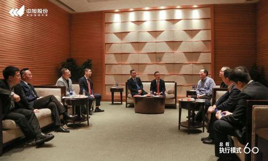 中旭总裁雷志平与8位院长赋能会谈