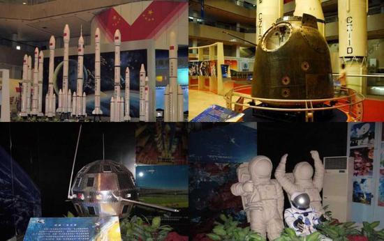 中华航天博物馆内部展示
