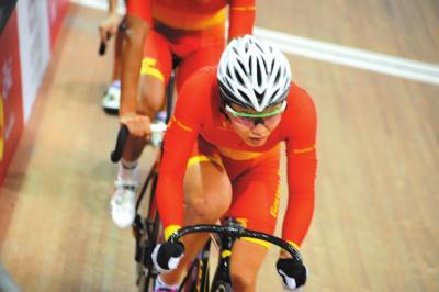 三、我省优秀自行车运动员罗晓玲当选党的十九大代表