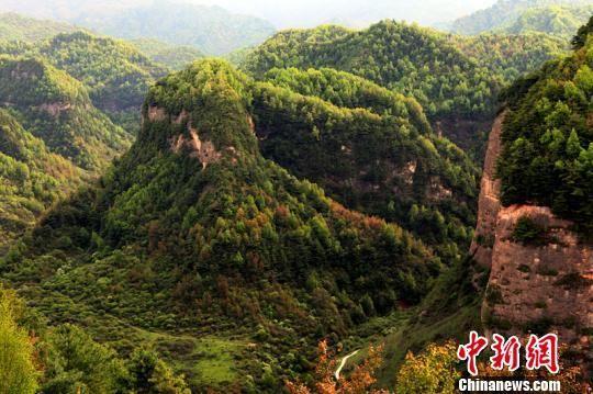资料图:图为甘肃渭源渭河源大景区。甘肃省旅发委供图