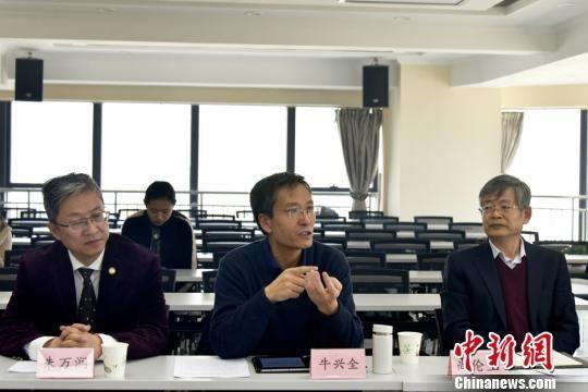 """图为甘肃省律师协会""""以案释法""""案例发布会现场。 崔琳 摄"""
