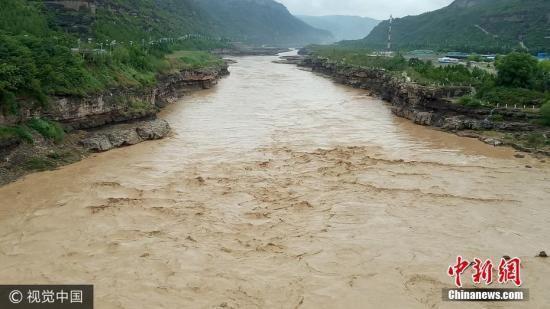 资料图:黄河。刘江 摄 图片来源:视觉中国