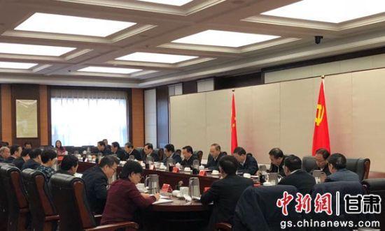 12月25日,甘肃省委在兰州召开党外人士座谈会。