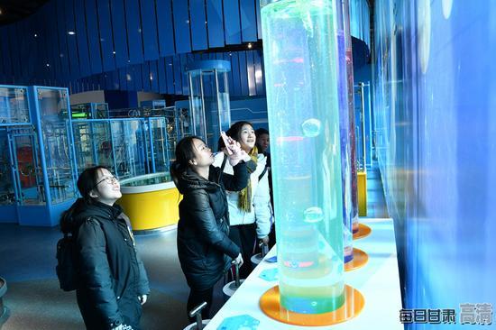 趣味体验—缓慢的气泡。