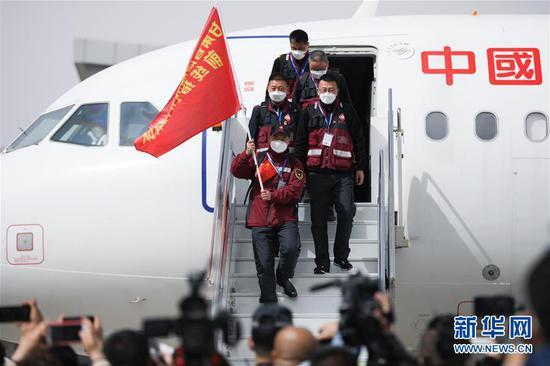 甘肃省最后一批援助武汉医务人员返回兰州